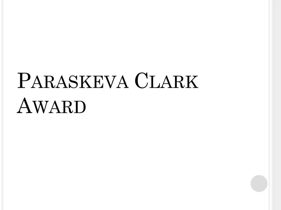 P ARASKEVA C LARK A WARD