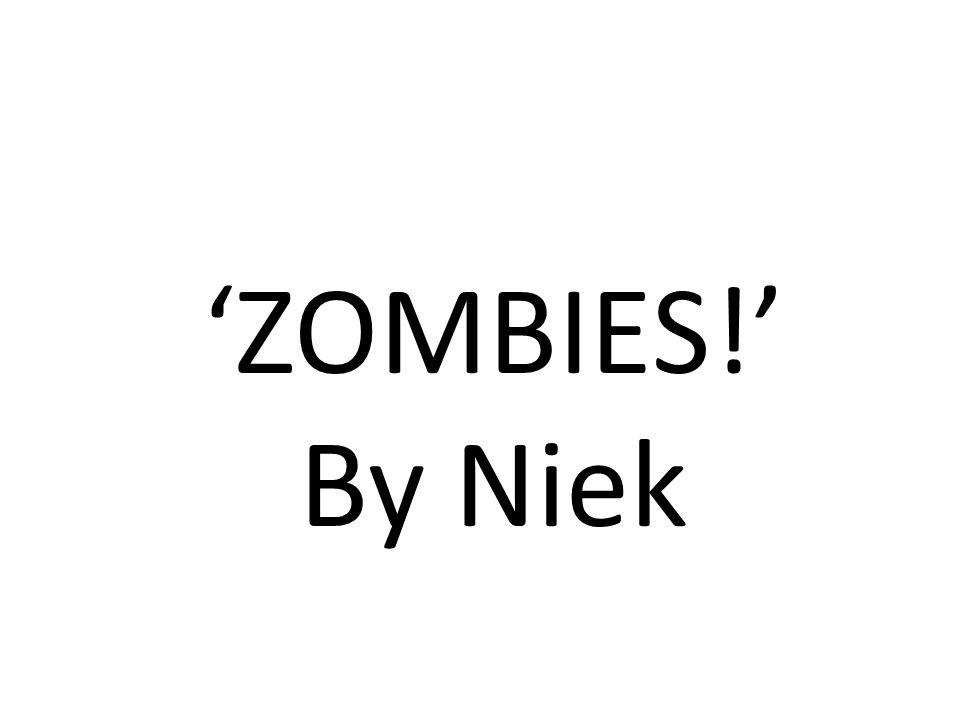'ZOMBIES!' By Niek