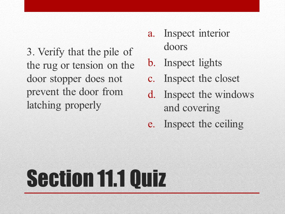 Section 11.1 Quiz 3.
