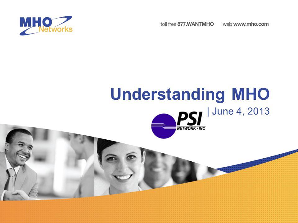 Understanding MHO | June 4, 2013