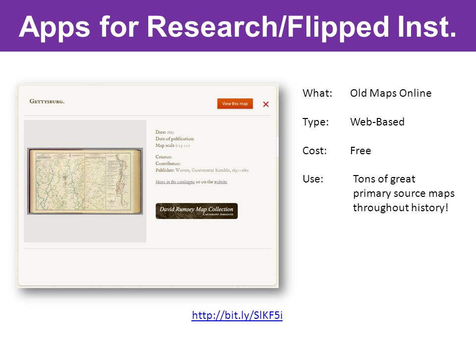 Apps for Research/Flipped Inst.