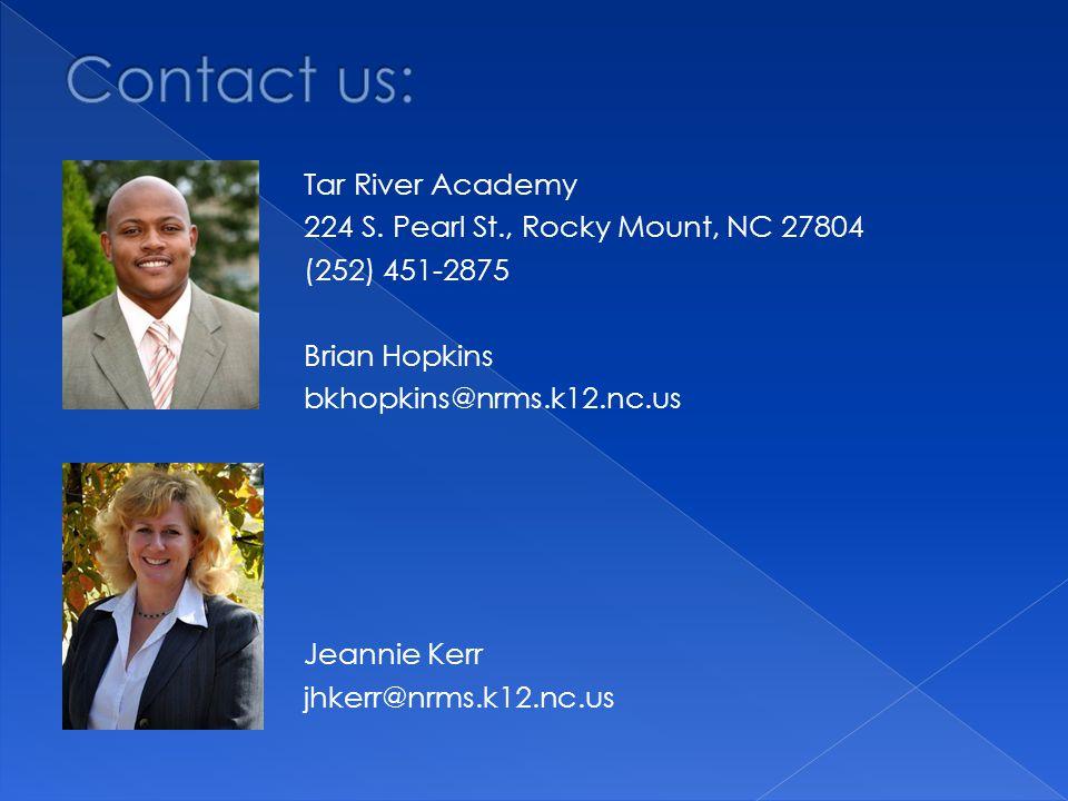Tar River Academy 224 S.
