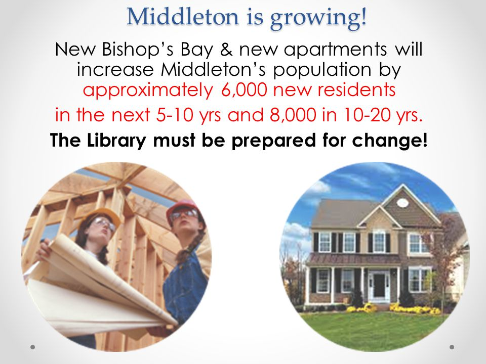 Middleton is growing.