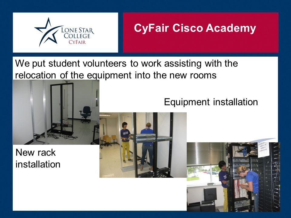 CyFair Cisco Academy How we do it