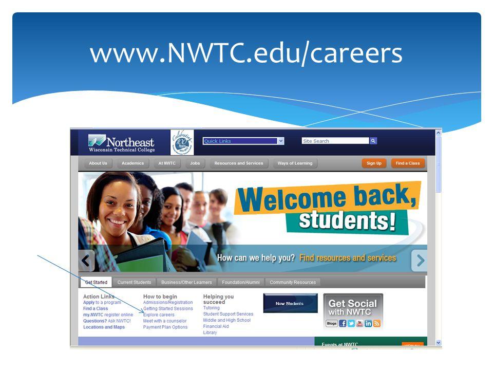 www.NWTC.edu/careers