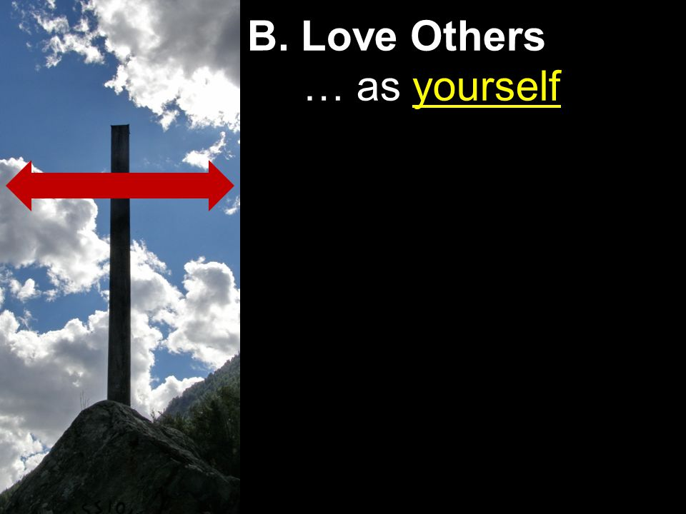 B. Love Others … as yourself
