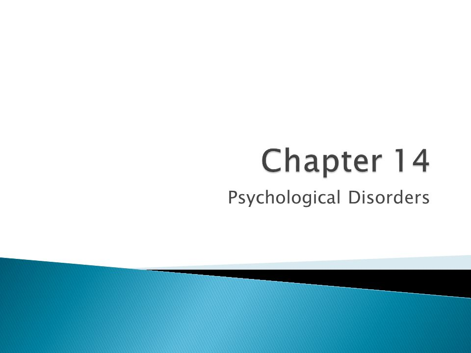  About 26% of adult Americans suffer diagnosable mental disorders in a given year