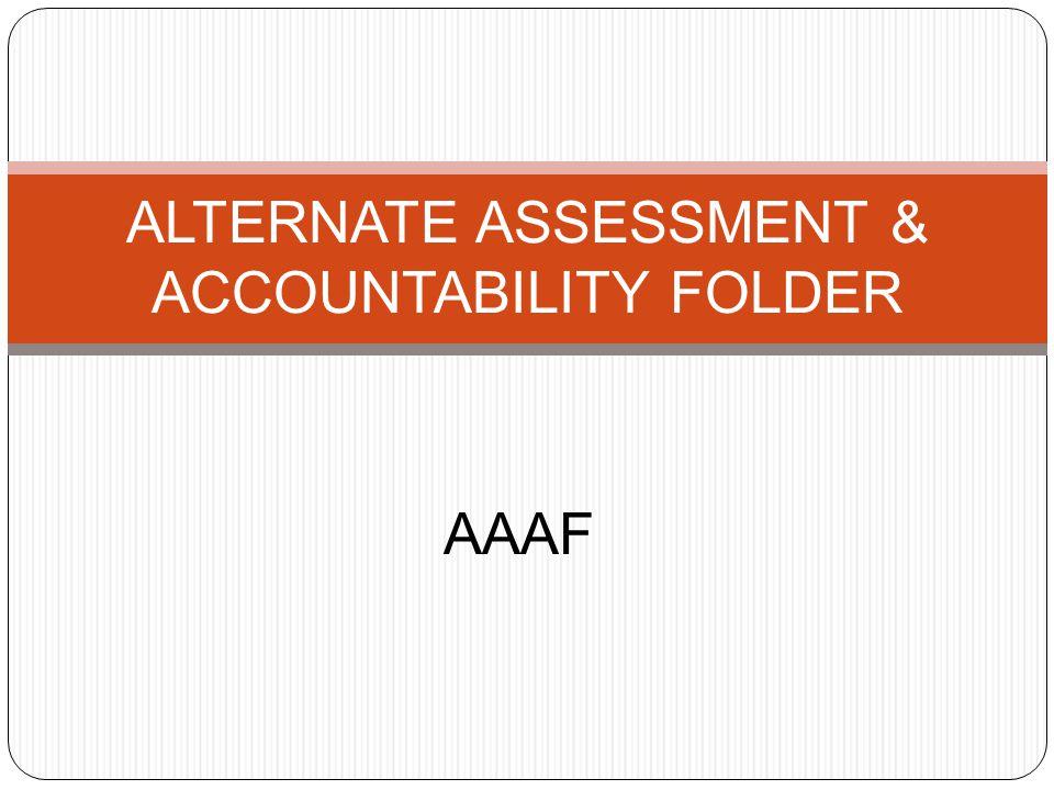 PART 1 AAAF Document Components Details Information for folder development