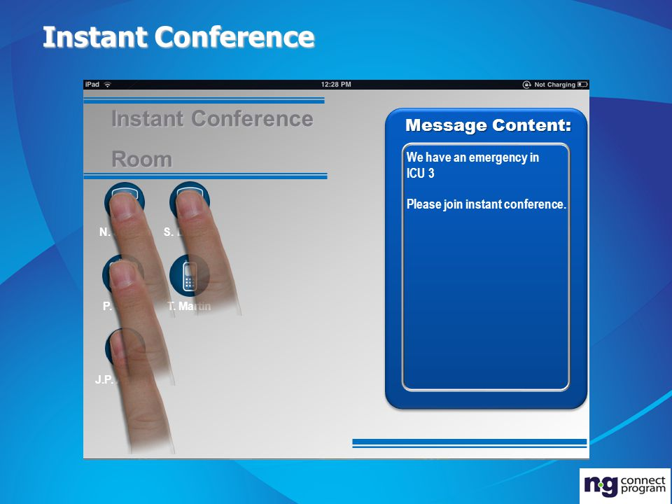 Instant Conference Message Content: N.
