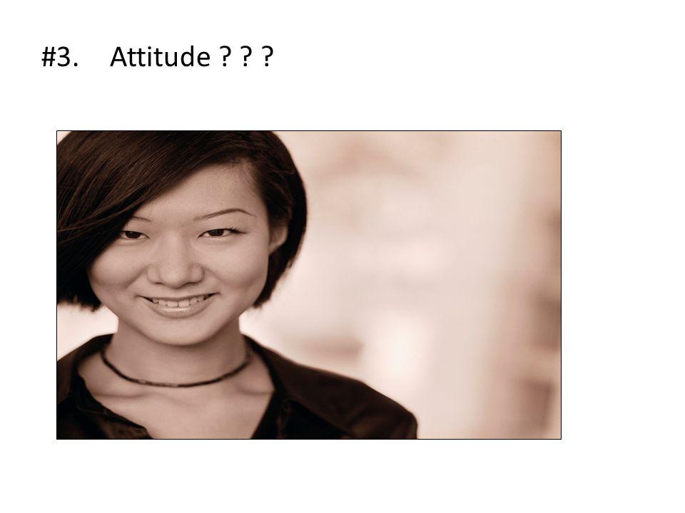 #3.Attitude