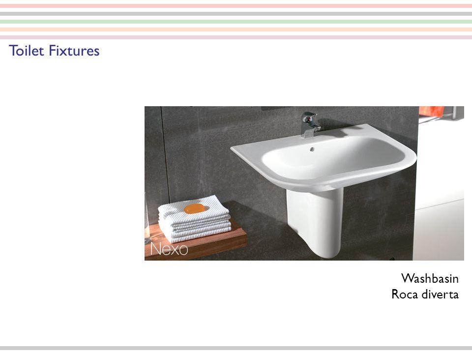 Washbasin Roca diverta Toilet Fixtures