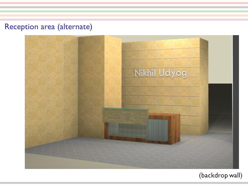 Reception area (alternate)