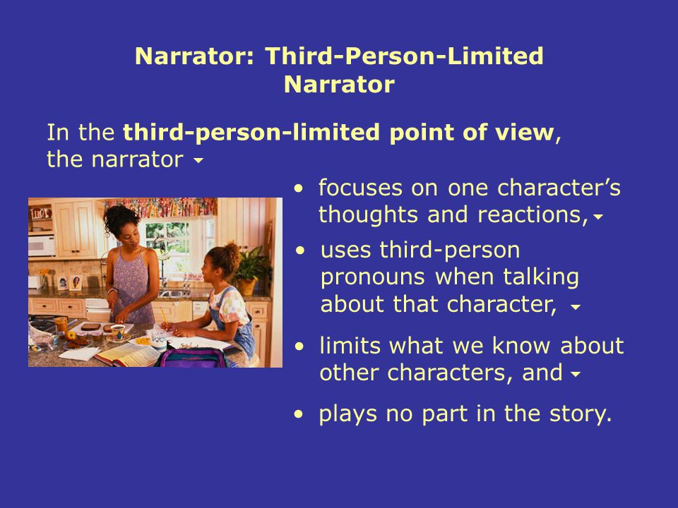 What is third person?
