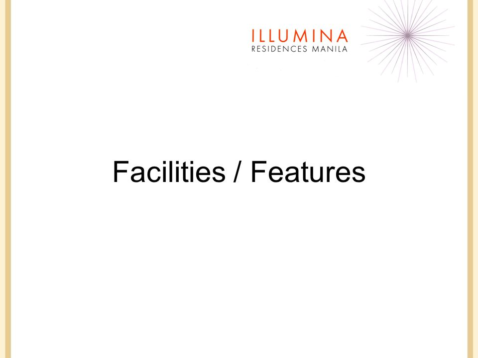 Facilities / Features