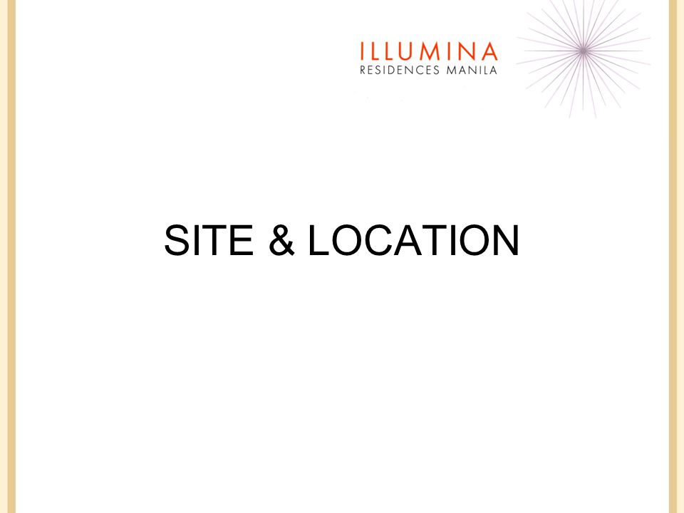 SITE & LOCATION