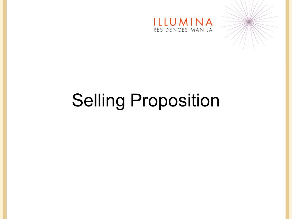 Selling Proposition