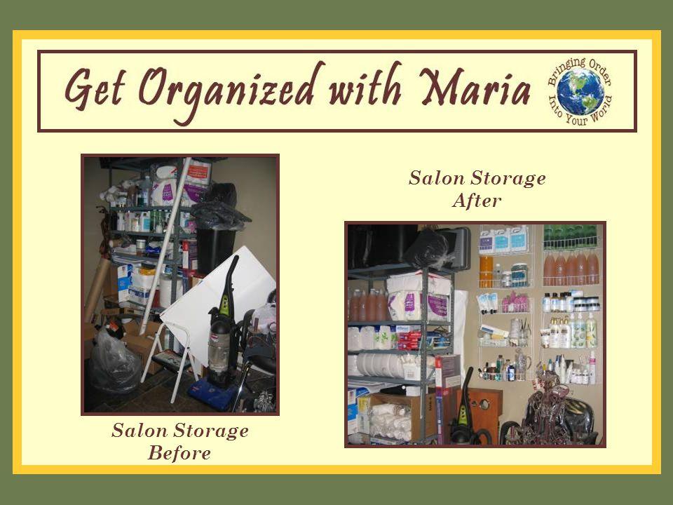 Salon Storage Before Salon Storage After