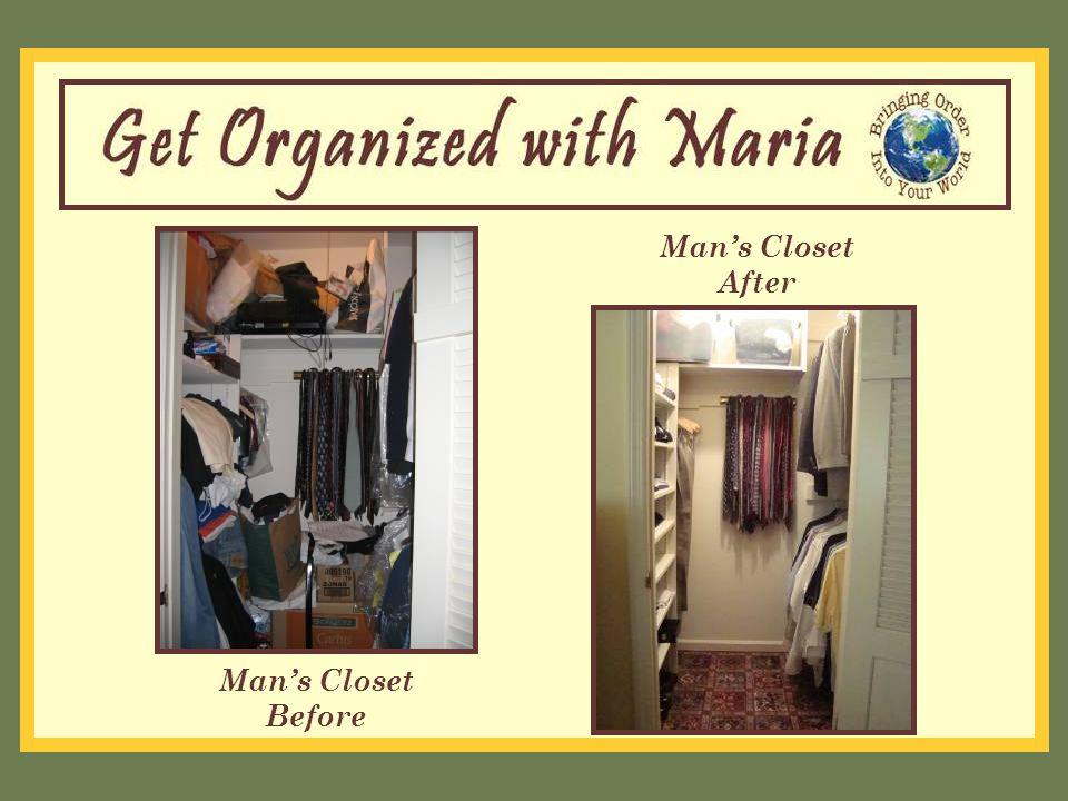 Man's Closet Before Man's Closet After