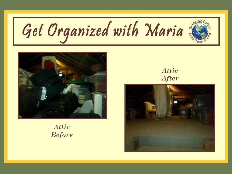 Attic Before Attic After