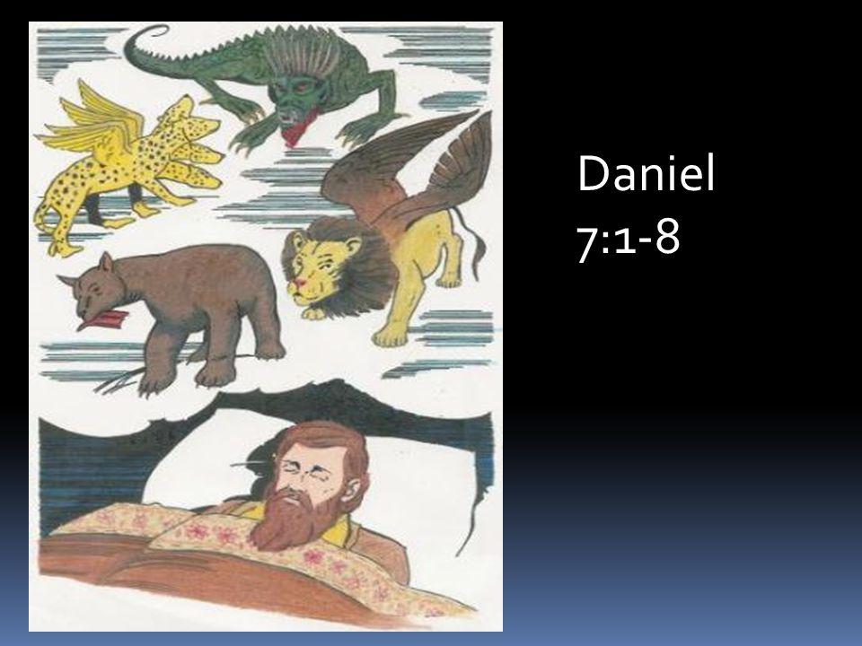 Daniel 7:1-8
