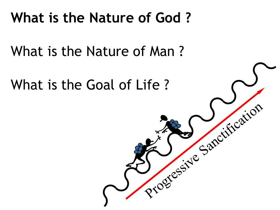What is the Nature of God . What is the Nature of Man .