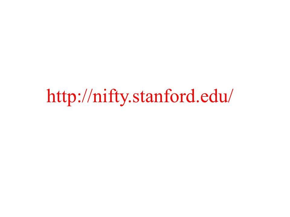 http://nifty.stanford.edu/
