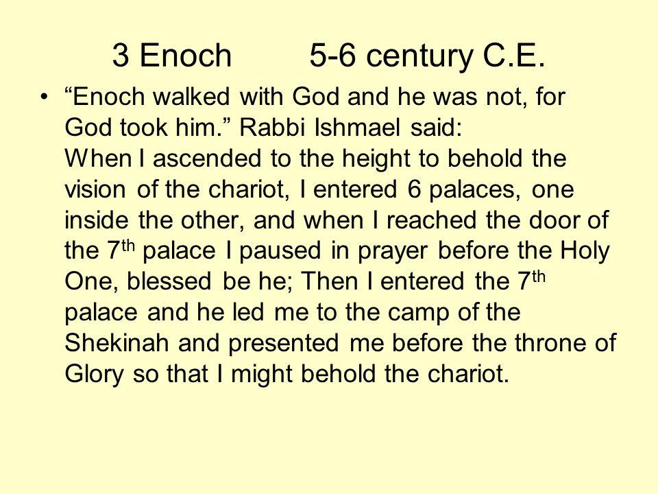 3 Enoch 5-6 century C.E.
