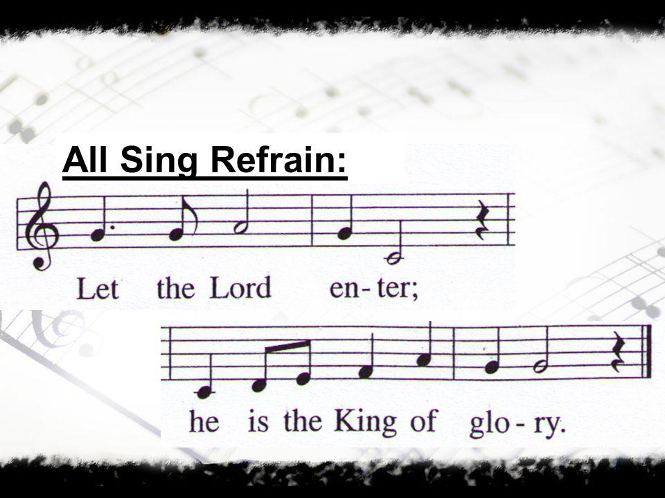 All Sing Refrain: