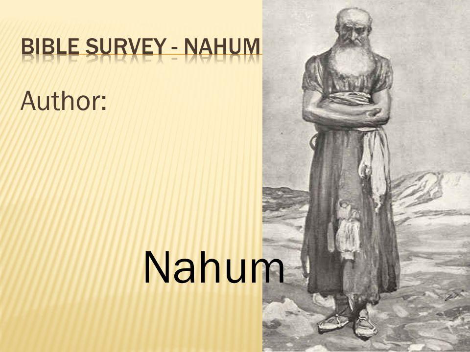 Author: Nahum