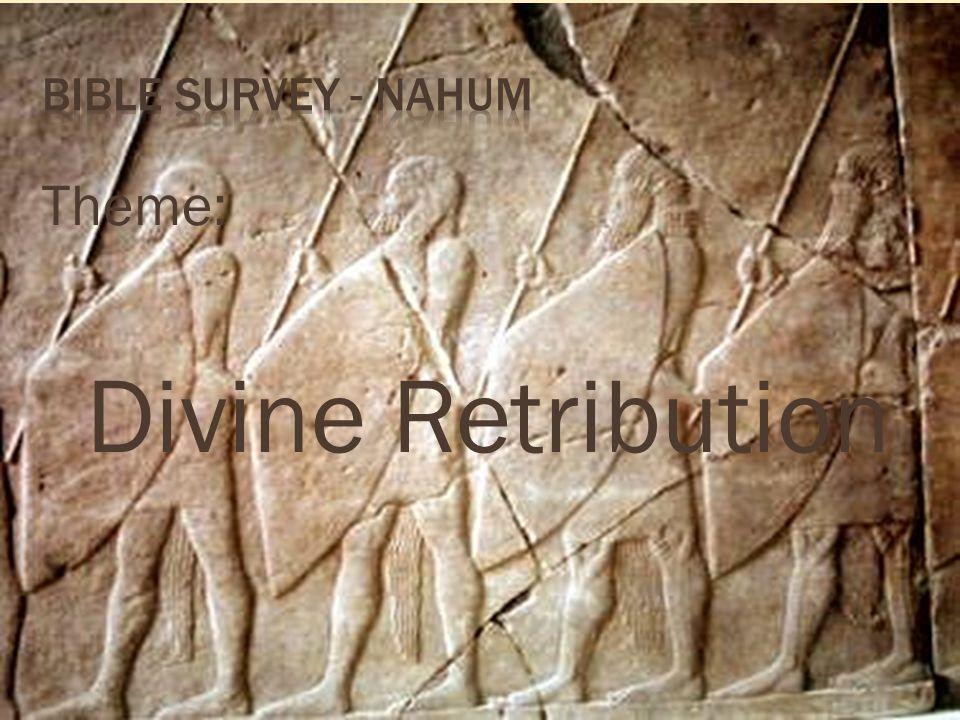 Theme: Divine Retribution