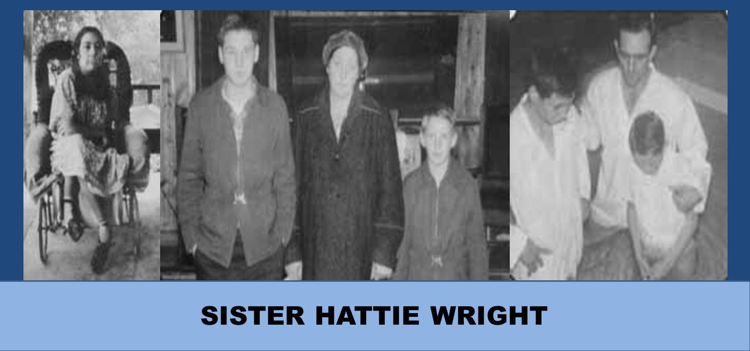 SISTER HATTIE WRIGHT