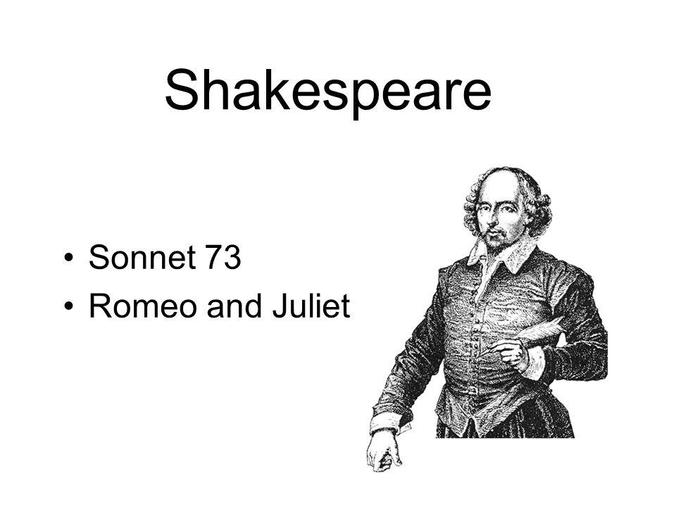 Shakespeare Sonnet 73 Romeo and Juliet