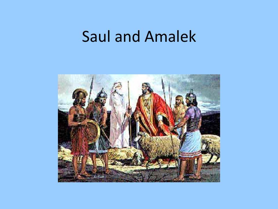 Saul and Amalek