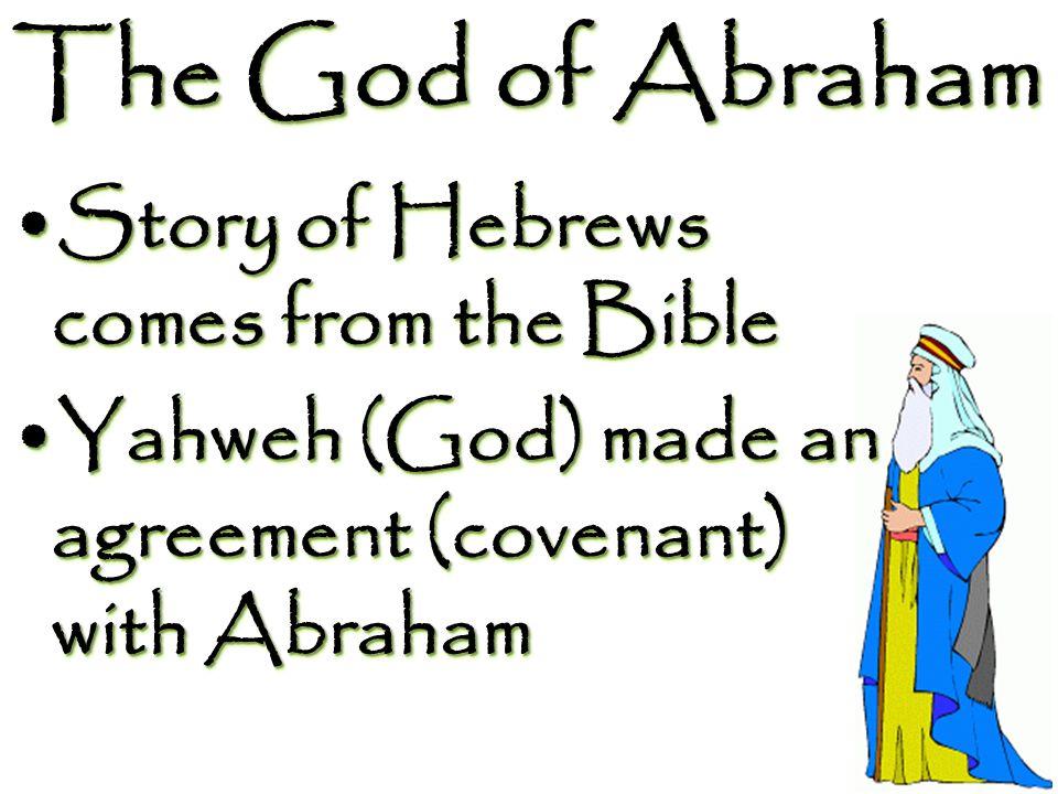 Timeline Abram marries Hagar (Sarai's maidservant) Birth of Ishmael (Hagar's son)