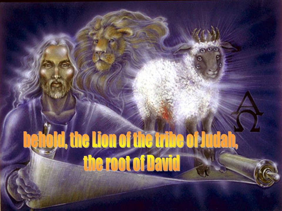 Rev. 5:12 Worthy is the Lamb that was slain EZEKIEL 2:9-10 A hand with a roll of a book it was written within and without: lamentations, mourning and