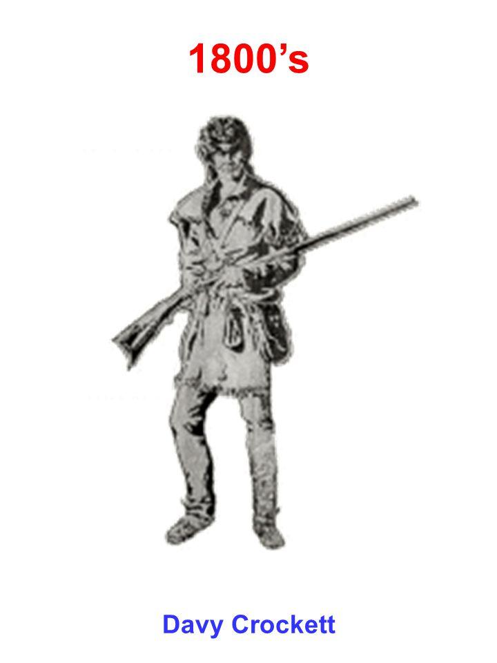 1800's Davy Crockett