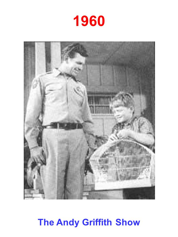 1960 The Andy Griffith Show