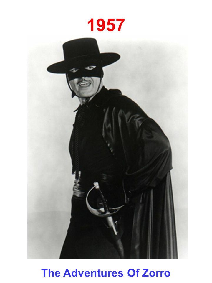 1957 The Adventures Of Zorro