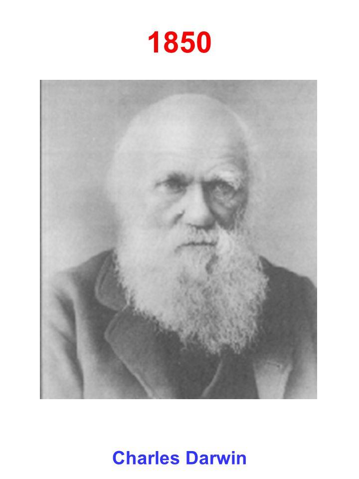 1850 Charles Darwin