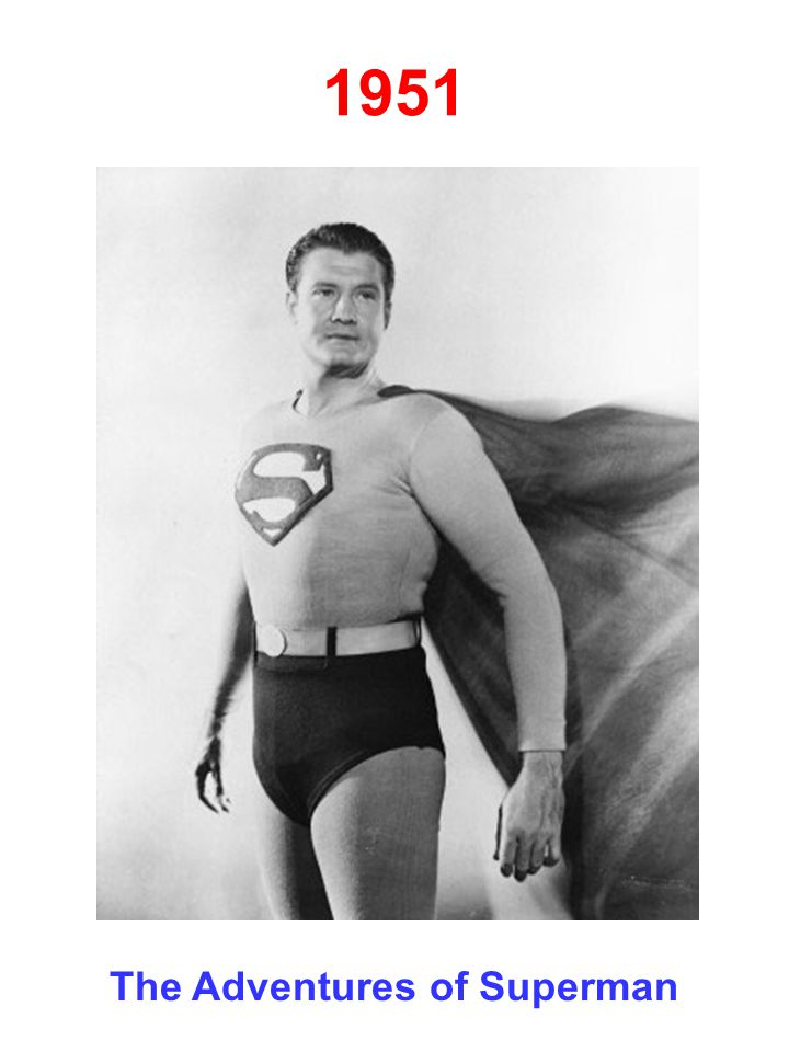 1951 The Adventures of Superman