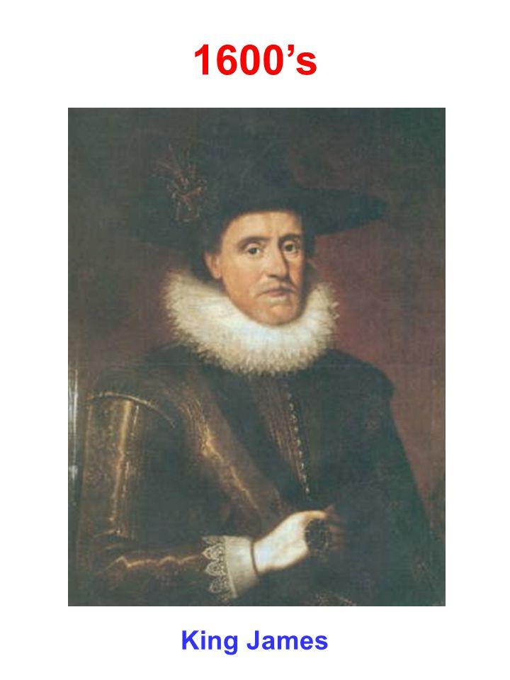 1600's King James