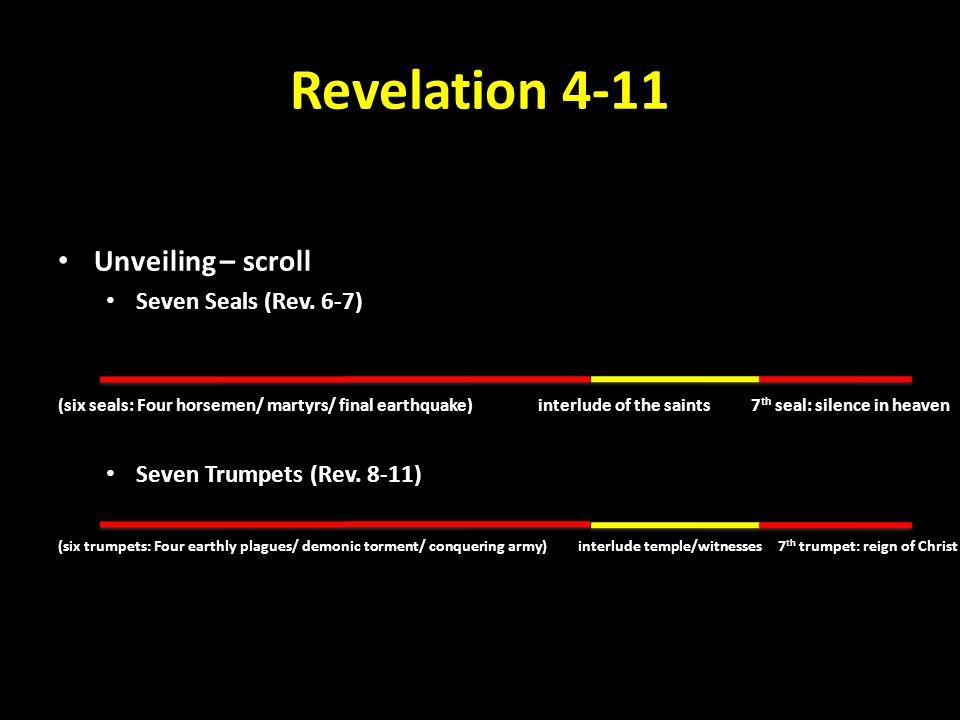 Revelation 4-11 Unveiling – scroll Seven Seals (Rev.