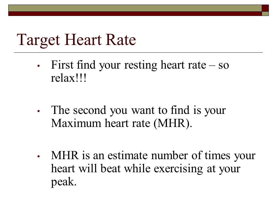 To Determine Your Resting Heart Rate  Your can take your resting heart rate by counting your pulse for a full minute before you get out of bed in the