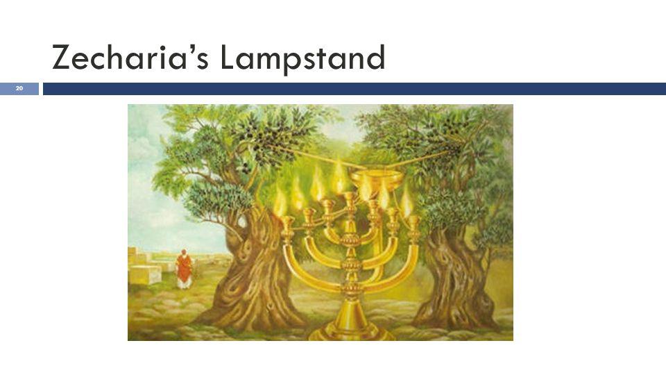 Zecharia's Lampstand 20