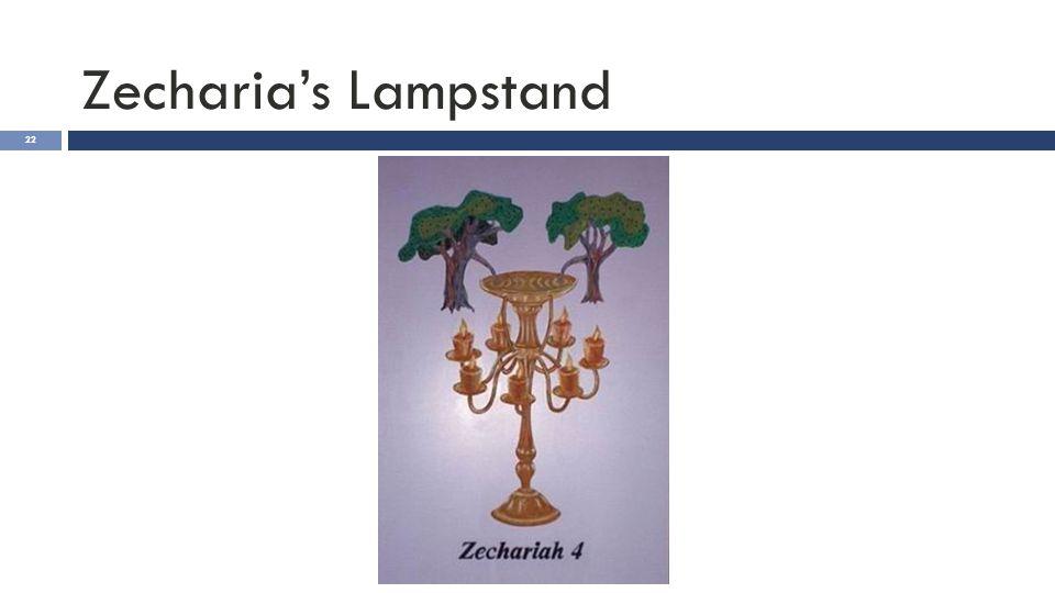 Zecharia's Lampstand 22