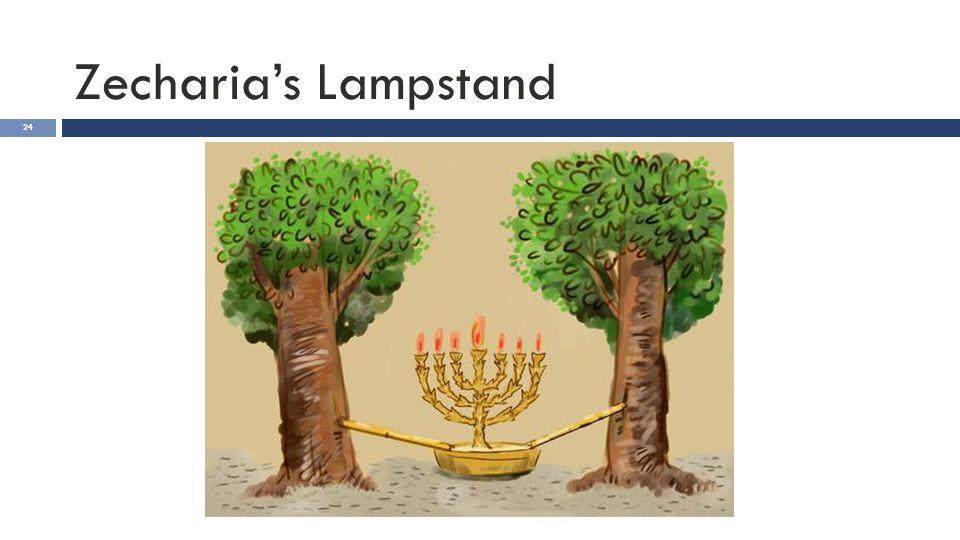 Zecharia's Lampstand 24