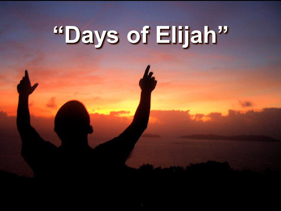 Verse 1: These are the days of Elijah, Declaring the word of the Lord: And these are the days of Your servant, Moses, Righteousness being restored.