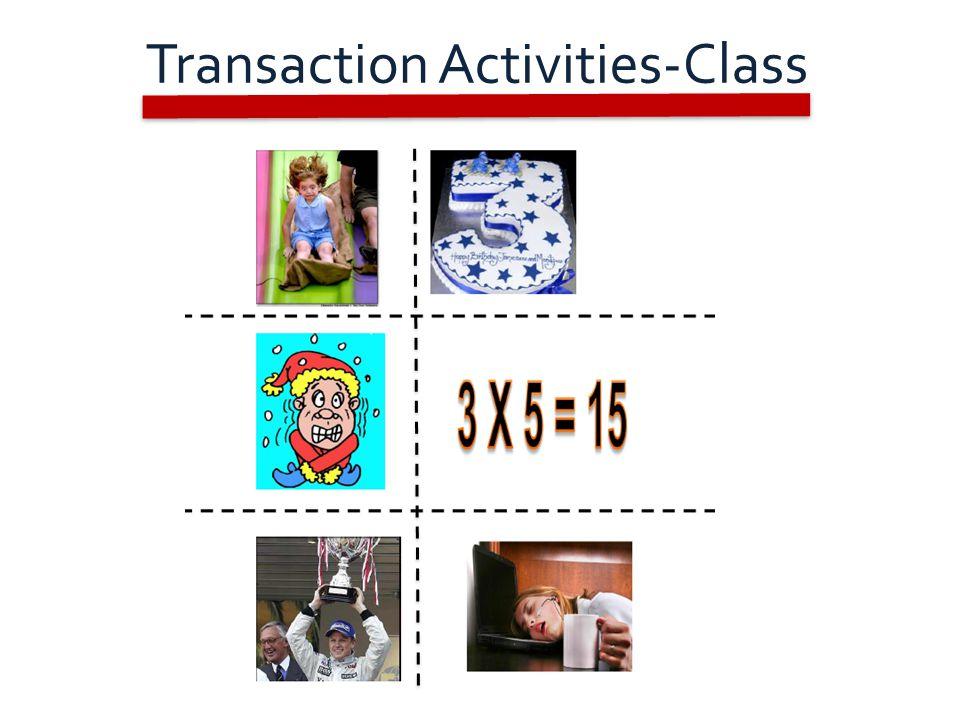 Transaction Activities-Class