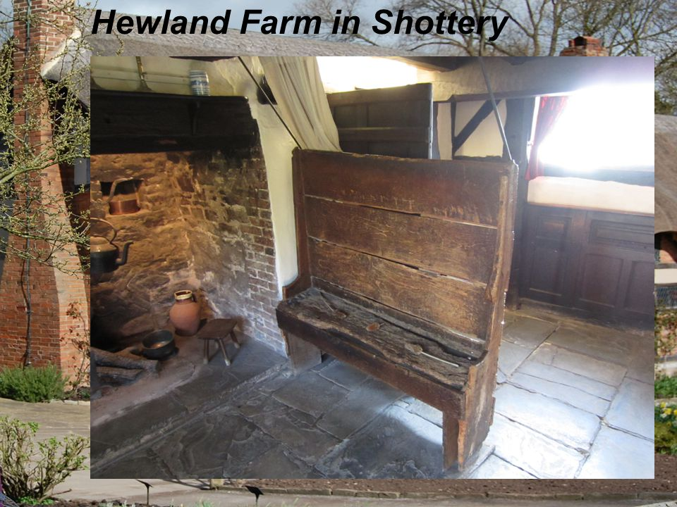 Shakespeare's wife's house Hewland Farm in Shottery