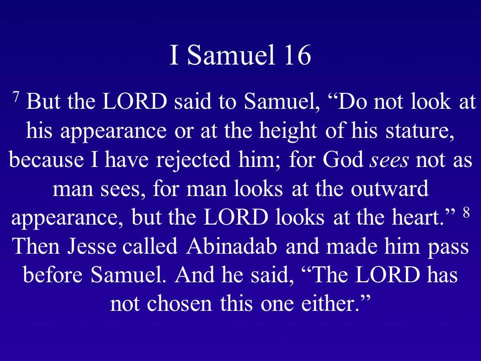 I Samuel 16 9 Next Jesse made Shammah pass by.